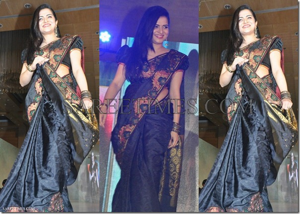 Divya_Darshini_Black_Palam_Silk_Saree