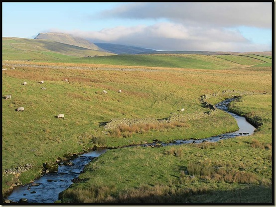 Catrigg Beck and Pen-y-ghent