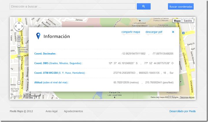Pixelis Maps GPS