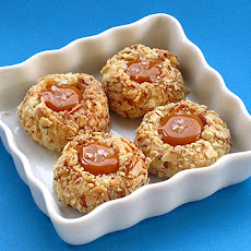 Salted Caramel Thumbprint Cookies