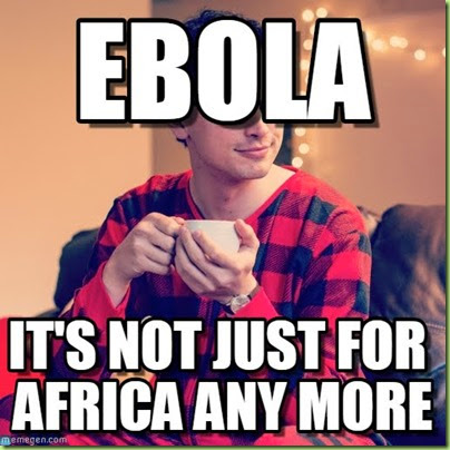 ebola not for breakfast