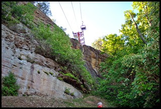 31c - Rock Garden Trail - A few more cliffs and under the Skylift