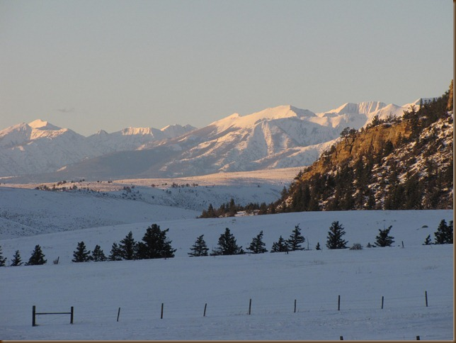 Crazy Mountains in December