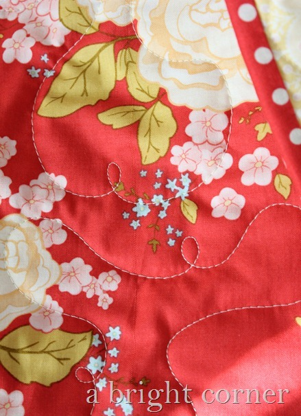 autumn blooms quilting