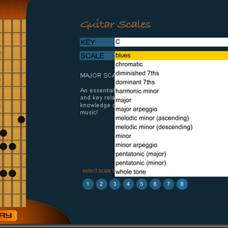 Chordbook: Escalas para principiantes online