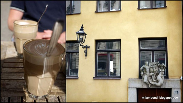 Coffee in Gamla Stan