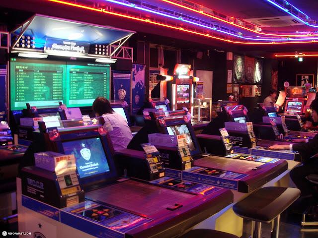 one of the many arcades across akihabara in Akihabara, Tokyo, Japan
