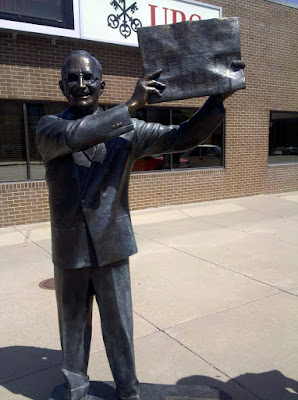President Truman statue in Rapid City