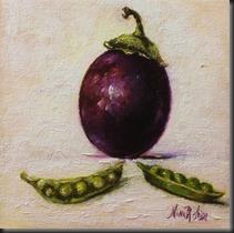Eggplant Peas 2