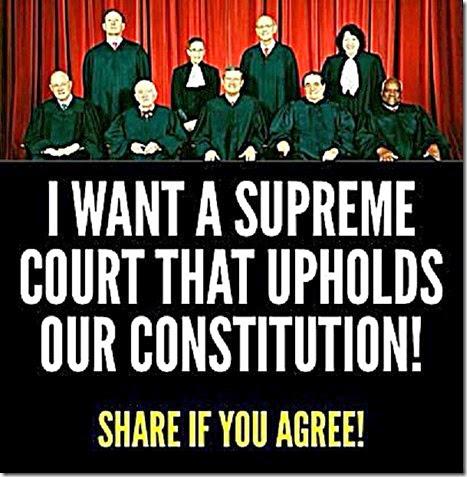 Need SCOTUS Support Constitution