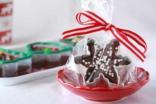 Cookie Cutter Fudge at Chocolate Moosey