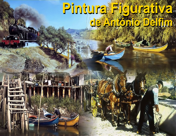 Pintura Figurativa - A. Delfim