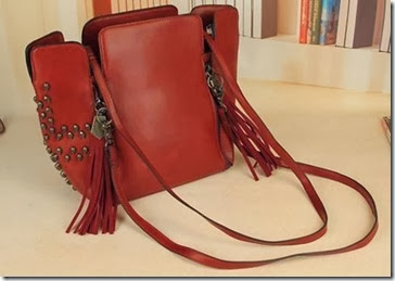 ID 3237 Red (203.000) - PU Leather, 38 x 25 x 15