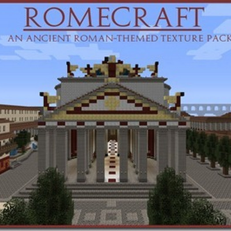 Minecraft 1.4.5 – RomeCraft XII Texture pack