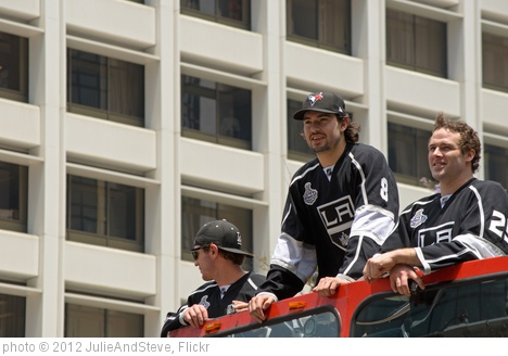 'L.A. Kings parade -- Drew Doughty and Dustin Penner' photo (c) 2012, JulieAndSteve - license: http://creativecommons.org/licenses/by/2.0/