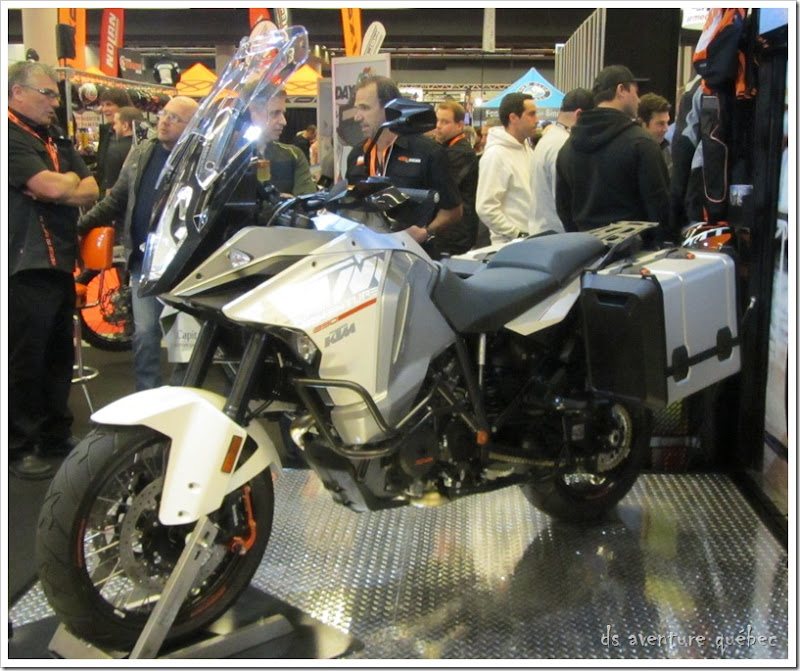 Salon Moto Montreal 2015 - KTM 1290 Super Adventure