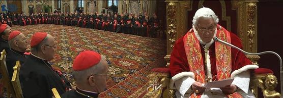 Discurso Bento XVI - Cria Romana - 21.12.12