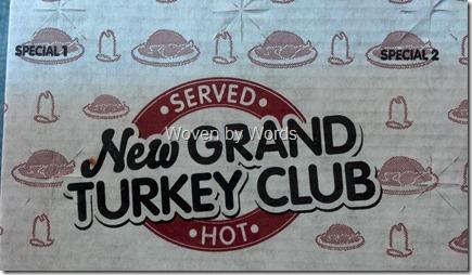 Arby's New Grand Turkey Club
