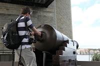 Aubain's massive cannon
