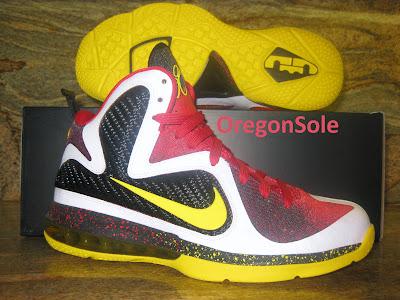 nike lebron 9 ss mvp 1 01 Unreleased Nike LeBron 9 MVP   Black Midsole Sample