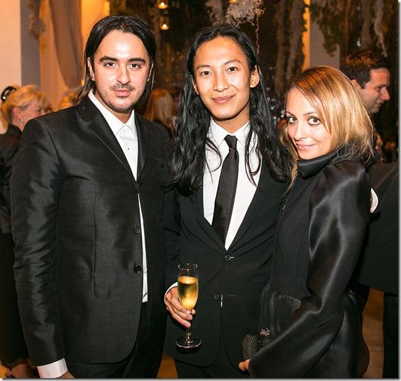 Ryan Korban, Alexander Wang, and Nicole Richi