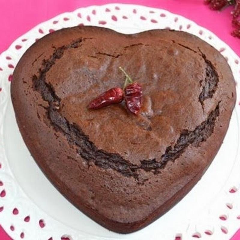 Καρδια σοκολάτας με  τσίλι