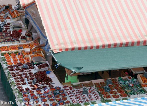 Nice France Farmers Market
