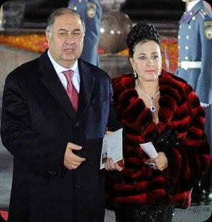 Alisher Usmanov and Viner