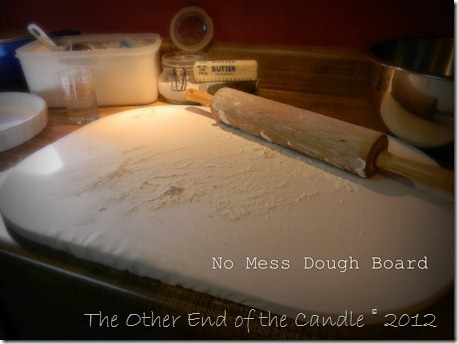 No Mess Dough Board