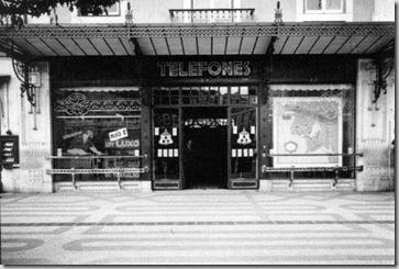1931 Cabines no Rossio
