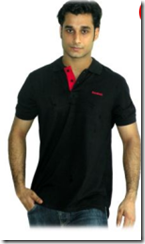 Rediff: Reebok Men's Black Cotton T-shirt At Rs. 399 only