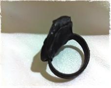 rosette ring back