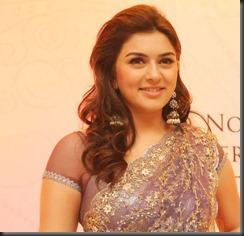 actress_hansika_in_saree_cute_photo