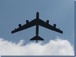 1447 Arlington, Virginia - Arlington National Cemetery - plane flying over President J. F. Kennedy Gravesite