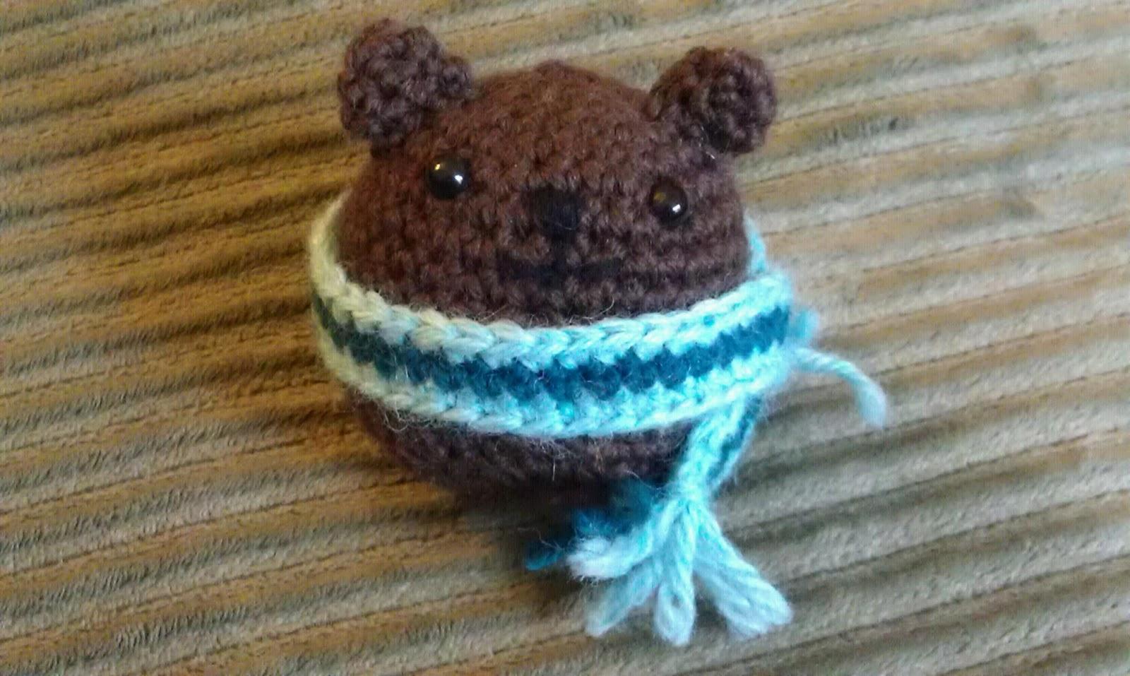 ChemKnits: Teddy Bear Amigurumi