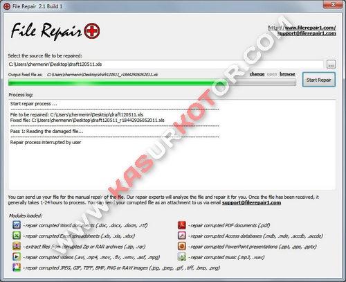 Memperbaiki File yang Rusak Kena Virus, System Crash, dan Software