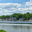 View of Boathouse Row