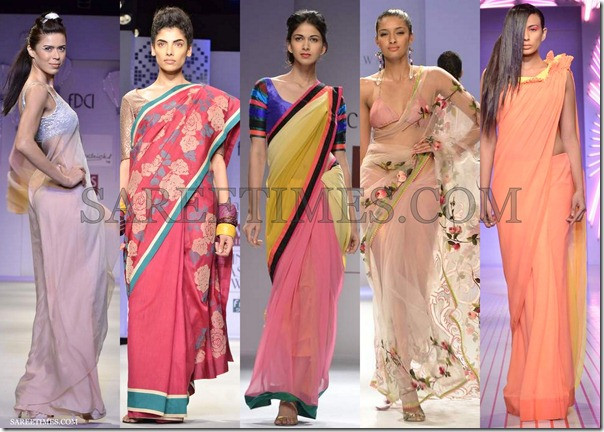 WLIFW_Spring_Summer_2013_Pink_Sarees