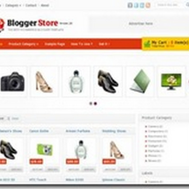 thumbnail in blog website design