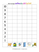Roll and Graph: Forest Animals
