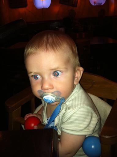 Oskar vill ha riktig mat