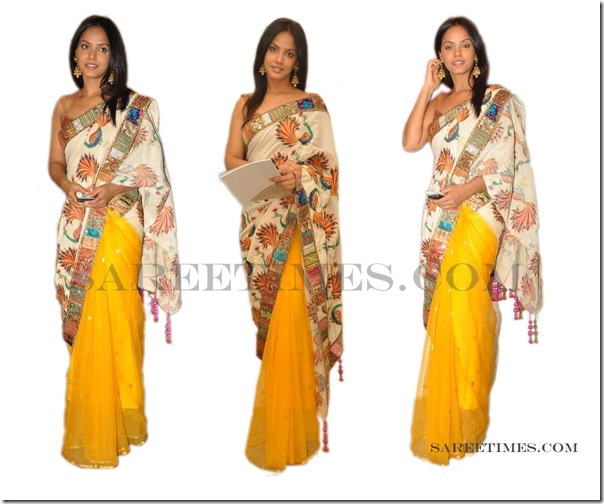 Neetu_Chandra_Yellow_Saree