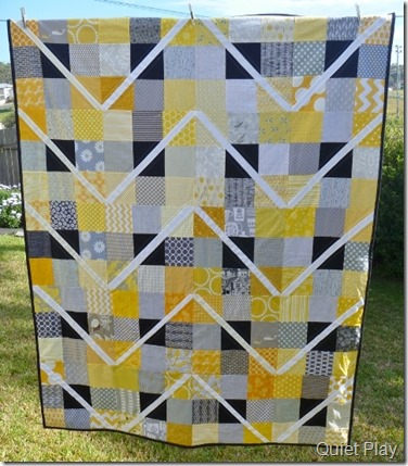 Finished quilt for care circle