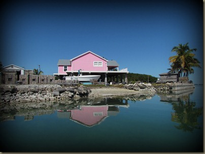 pink house at geiger key