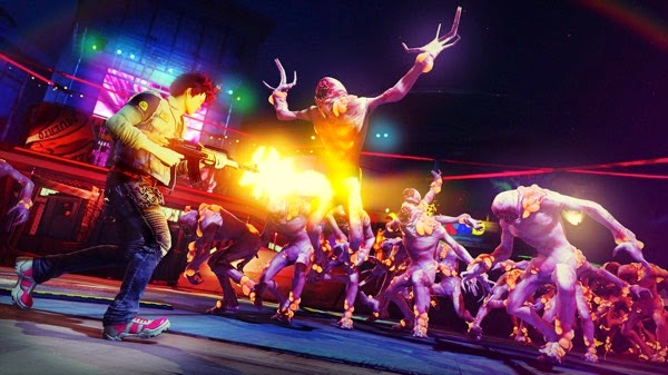 Sunset Overdrive forall Nighttime