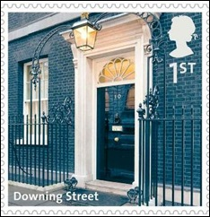 D - Downing Street stamp
