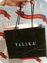 talika goody bag