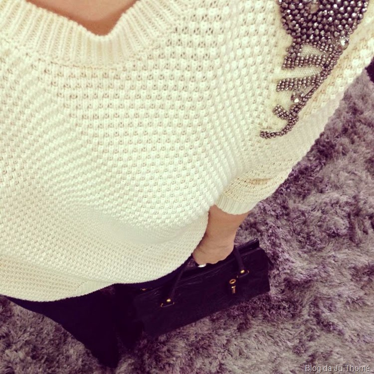 look tricô bordado e jeans2