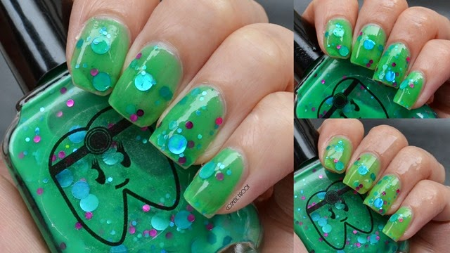 Doctor Lacquer - Serotonin Swatch Review