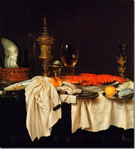 Pieter-Claesz-Still-life-with-a-lobster